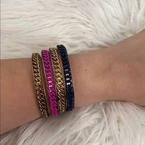 H&M 4 piece bracelet bangle